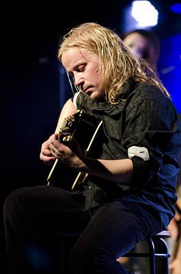 Photograph - Emppu Vuorinen - Nightwish  by Saija  Lehtonen