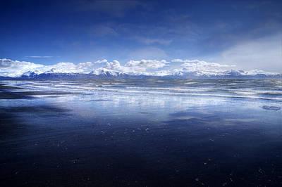 Empty Beach Art Print by Michele Cornelius