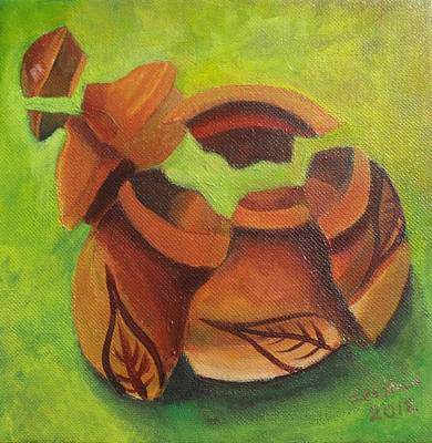 Painting - Empty Bowl by Lee Hood