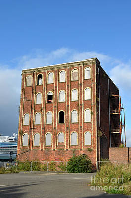 Digital Art - Empty Building In Greenock Scotland by Eva Kaufman