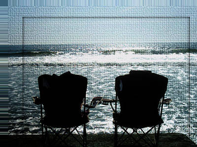 Photograph - Empty Chair Personification by Marie Jamieson