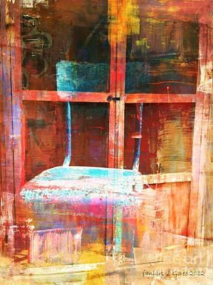 Empty Chairs Mixed Media - Empty  by Fania Simon