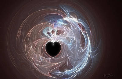 Digital Art - Empty Hearted by Barry Jones