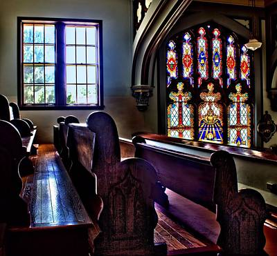 Photograph - Empty Pews by Myrna Migala