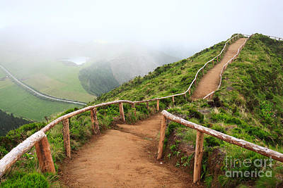 Sete Photograph - Empty Walking Trail by Gaspar Avila