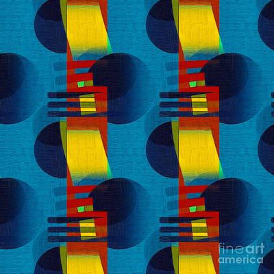 Abstract Digital Digital Art - En Formes 01f by Aimelle