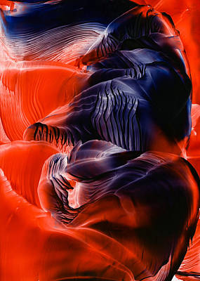 Wax Painting - Encaustic 1033 by Hakon Soreide