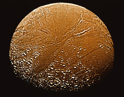 Enceladus Art Print by Stocktrek
