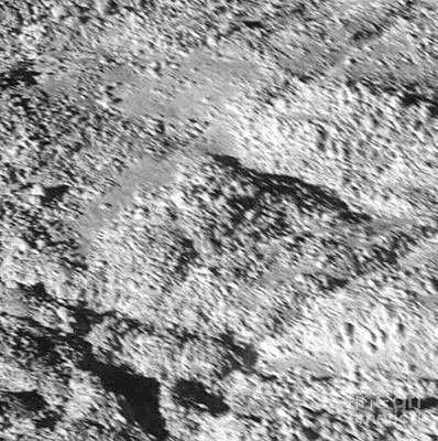 Enceladus Surface Art Print by NASA / Science Source