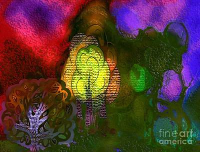 Enchanted Forest 3 Art Print