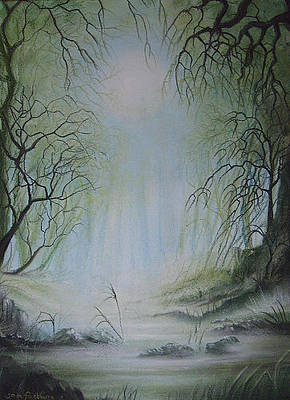 Painting - Enchanted Forest by Jan Farthing