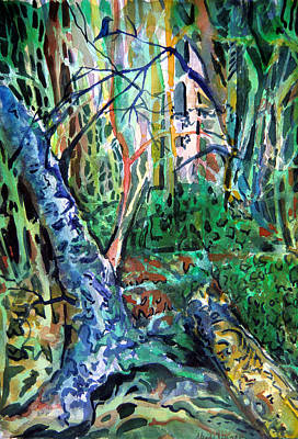 Enchanted Forest Original by Mindy Newman