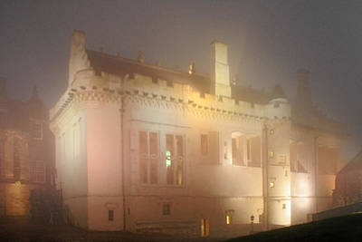 Nighttime Photograph - Enchanted Stirling Castle Scotland  by Christine Till