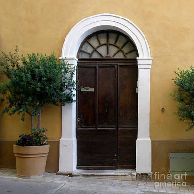 Enchanting Door Art Print by Lainie Wrightson