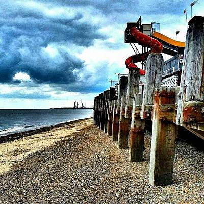 Norfolk Wall Art - Photograph - End Of Britannia Pier #wood #pier by Invisible Man