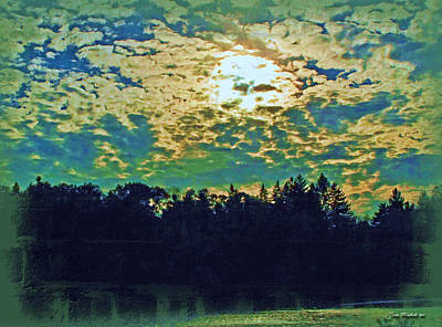 Photograph - End Of Day At Hinckley Lake by Joan  Minchak