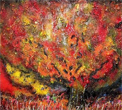 End Of Days Original by Karen Elzinga