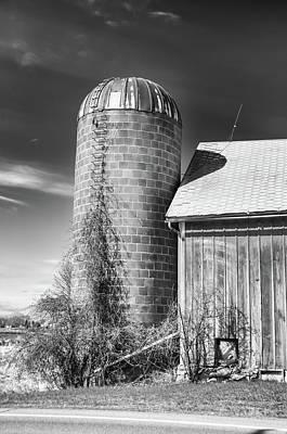 End Of The Barn Art Print