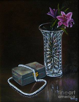Painting - End Of The Night by Patricia  Lang