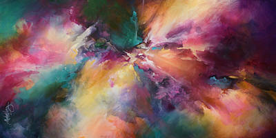 'end Of The Rainbow' Art Print by Michael Lang