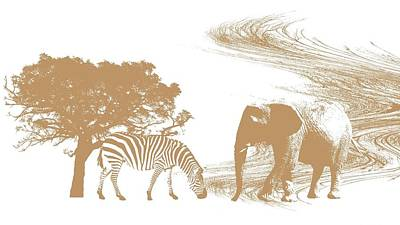 Endangered Art Print by Sharon Lisa Clarke