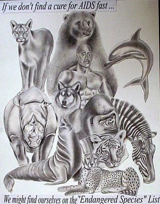 Endangered Species Art Print by Rick Hill