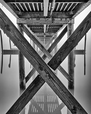 Endless Pier Art Print by Brian Young