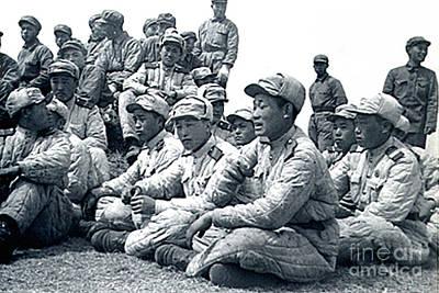 Photograph - Enemy Soldiers In Panmunjom Korea by Merton Allen