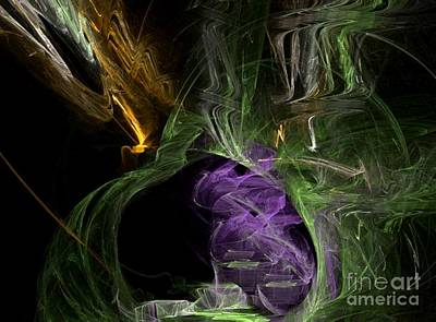Digital Art - Energies Align by Vicki Lynn Sodora