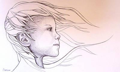 Energy Art Print by Candice PerryMoen
