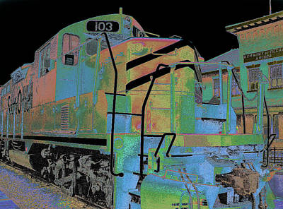 Engine 103 Art Print