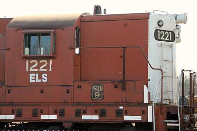 Photograph - Engine 1221 by Mark J Seefeldt
