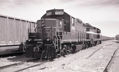 Photograph - Engine 1506 by HW Kateley