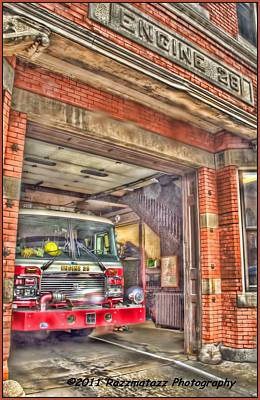 Art Print featuring the photograph Engine 28 by Jim Lepard
