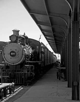 Photograph - Engine 314 by Cheri Randolph