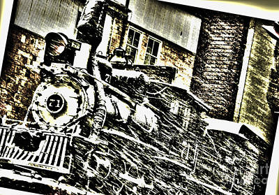 Photograph - Engine 71 by Shannon Harrington