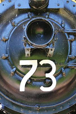 Photograph - Engine 73 by Bruce Bley