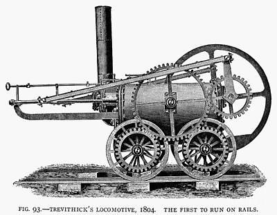 England: Locomotive, 1804 Art Print
