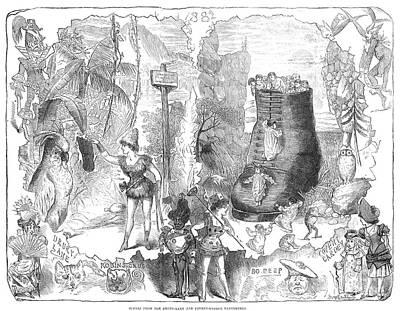 England: Pantomime, 1881 Art Print