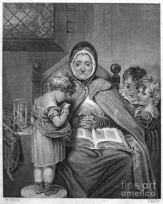 England: Schoolmistress Art Print by Granger