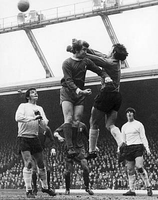 Goalkeeper Photograph - England: Soccer Game, 1970 by Granger