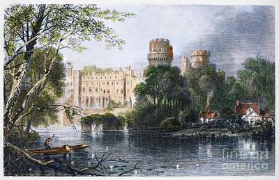 Warwick Castle Photograph - England: Warwick Castle by Granger