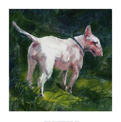 English Bull Terrier Painting - English Bull Terrier by Chris Pendleton