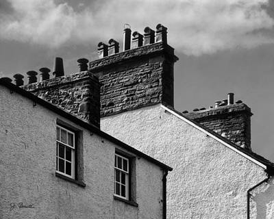 Photograph - English Chimney Pots by Joe Bonita