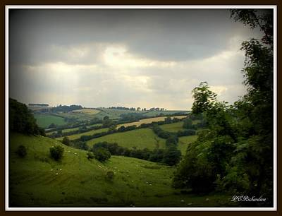 Photograph - English Countryside by Priscilla Richardson