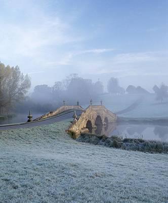 Winter Views Photograph - English Fog by Zarija Pavikevik