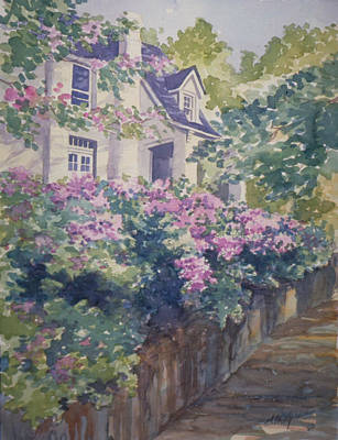 Painting - English Summer by Audrey Peaty