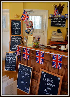 Photograph - English Tearoom by Carla Parris