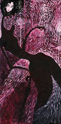 Art Print featuring the painting English Weather by Maya Manolova