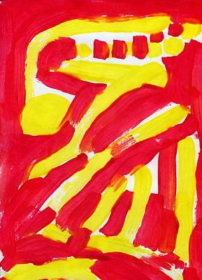 Engulfed Rage Original by Taylor Webb